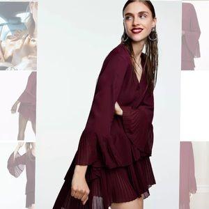 Zara Pleated dress/blouse